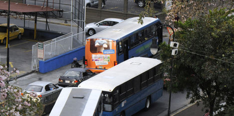 costa rica buses