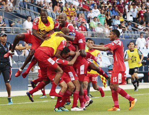 Canada Panama Gold Cup Soccer