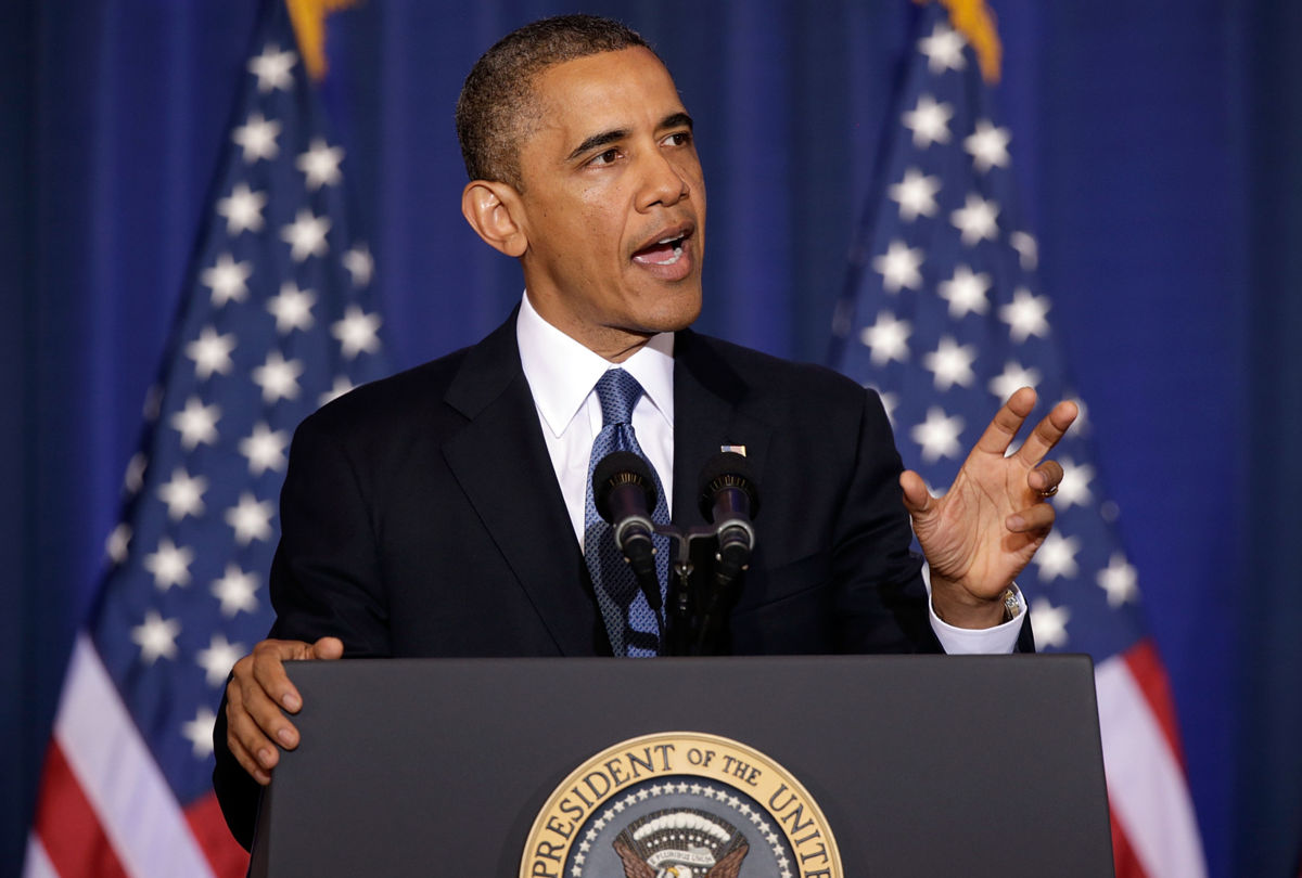Obama Discusses US Counterterrorism Policy At National Defense University