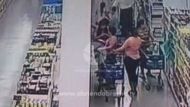 Así roban en los supermercados de Honduras (VIDEO)