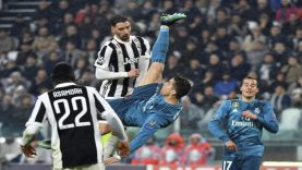 Juventus Real Madrid The Best' chilena de la Champions