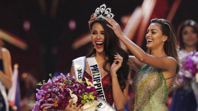 Miss Filipinas Catriona Gray es la ganadora del Miss Universo 2018